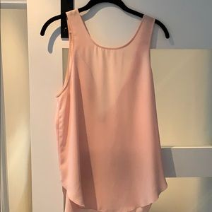 Wilfred light pink tank top - size S